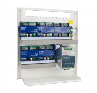 Modular ventilation controller M-VENT with BUS technology