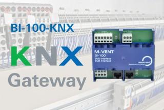 BI-100-KNX - New BUS Interface with KNX