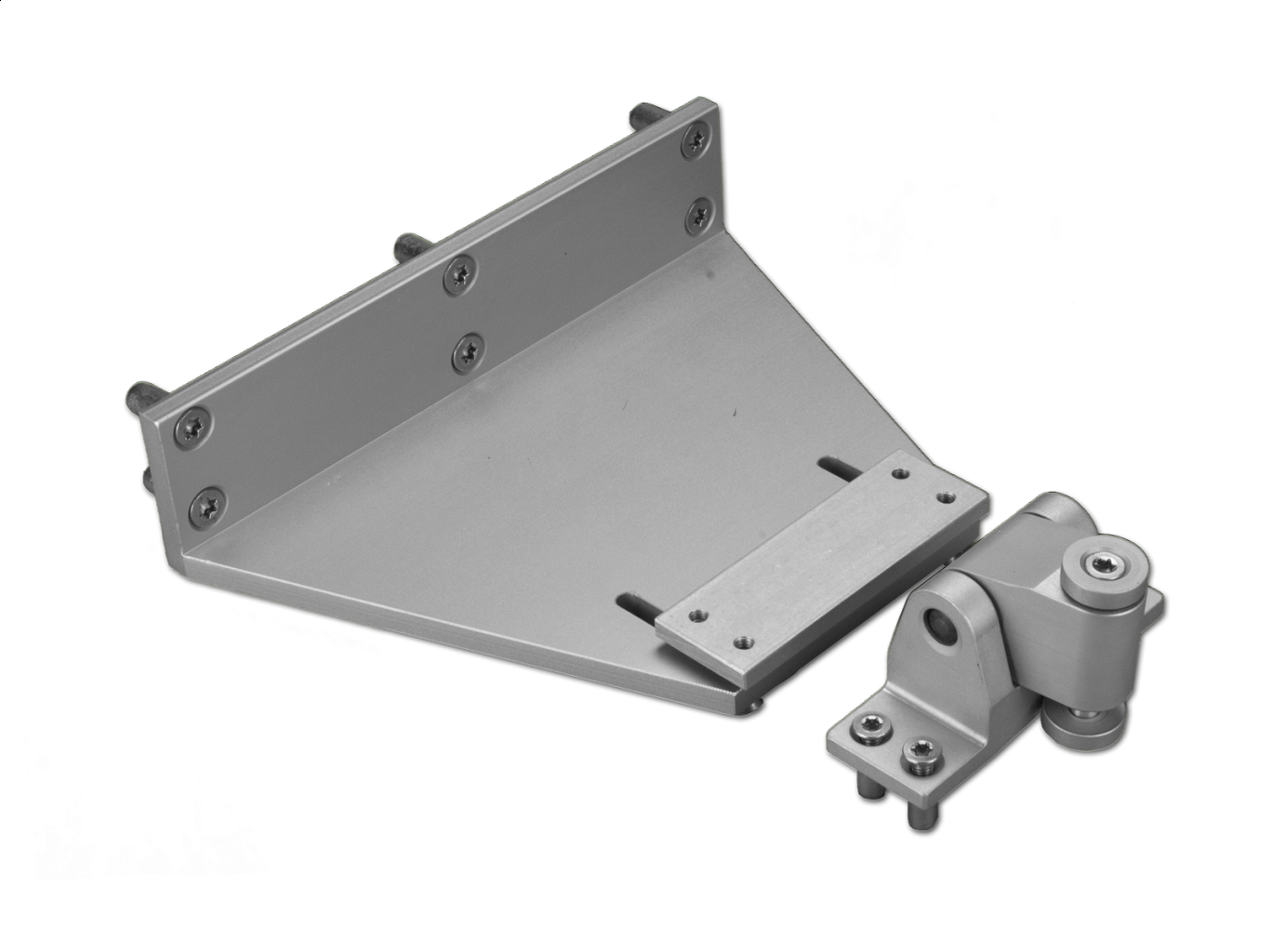 Photo EA-KL2 folding arm for mounting on Schüco profiles