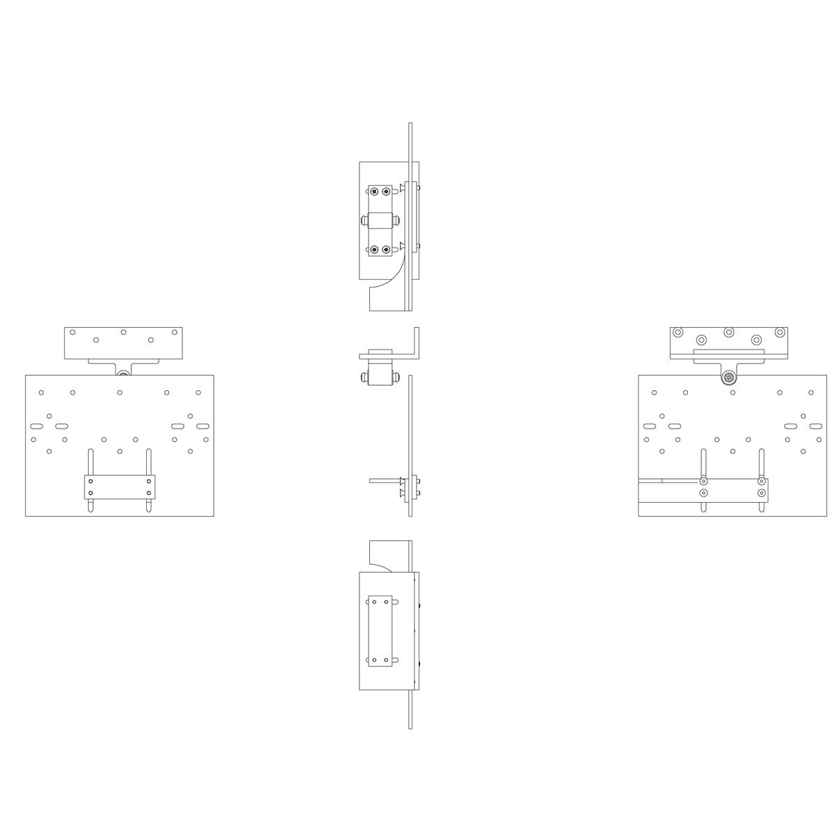 EA-KL²-L-bracket right